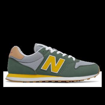 GM500MS1, Herren Sneaker, Black Spruce / Team Gold, New Balance