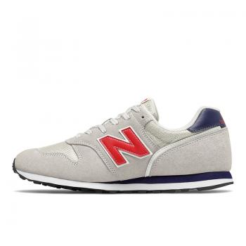 ML373CO2, Herren Sneaker, weiss mit rot, New Balance