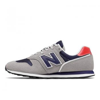 ML373CT2, Herren Sneaker, grey mit navy, New Balance