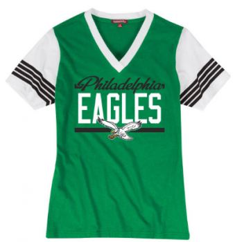 Mitchell & Ness Damen MVP Tee, Philadelphia Eagles im Throwbacks Design