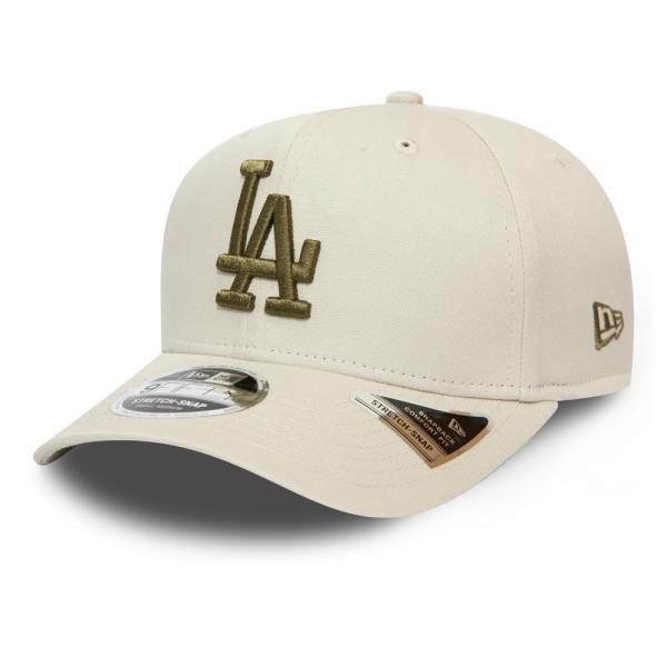Los Angeles Dodgers Stretch Snap 9FIFTY Cap - STONE