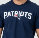 New England Patriots NFL Fan Tee in marineblau
